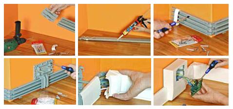 Impianti elettrici civili progettazione installazione e manutenzione impianti elettrici pronto - Impianti elettrici a vista per interni ...